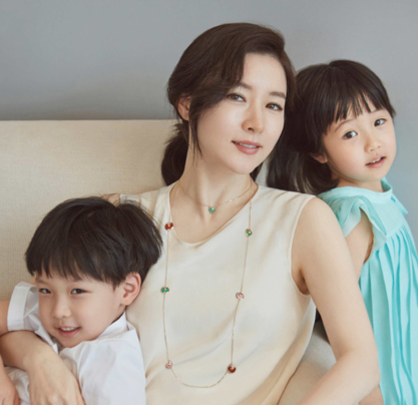 Lee Young-ae 子供