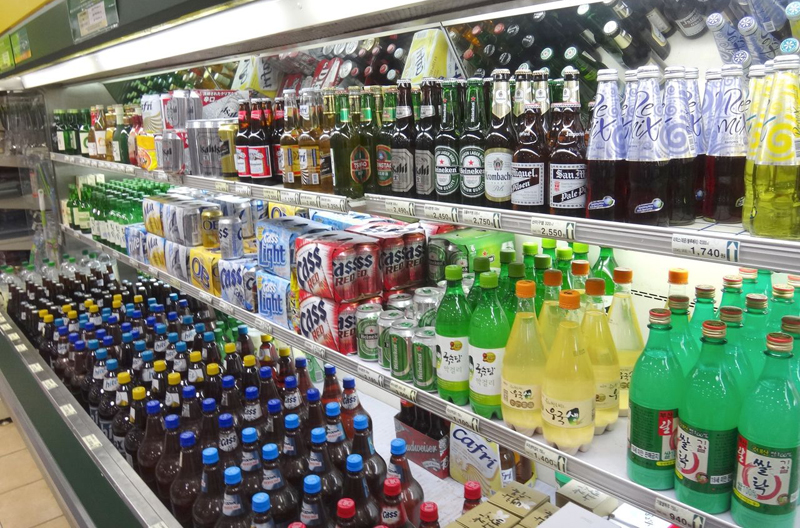 韓国酒売り場