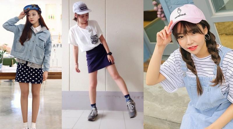 一昔前までは「韓国人女性=キャップスタイル」が定番であった韓国。学生さんからお年寄りまで、みんなキャップを愛用していました。基本的に韓国の方は帽子が好きな