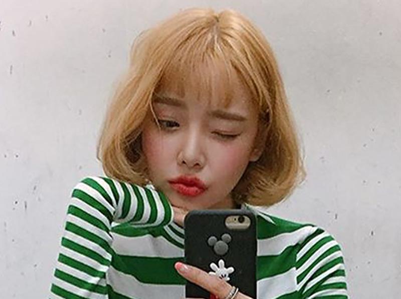 ショートヘア ボブ 韓国