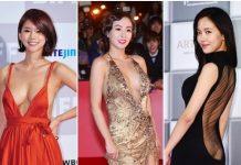 韓国女優ドレス