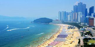 リゾート地としても人気の韓国のきれいな海