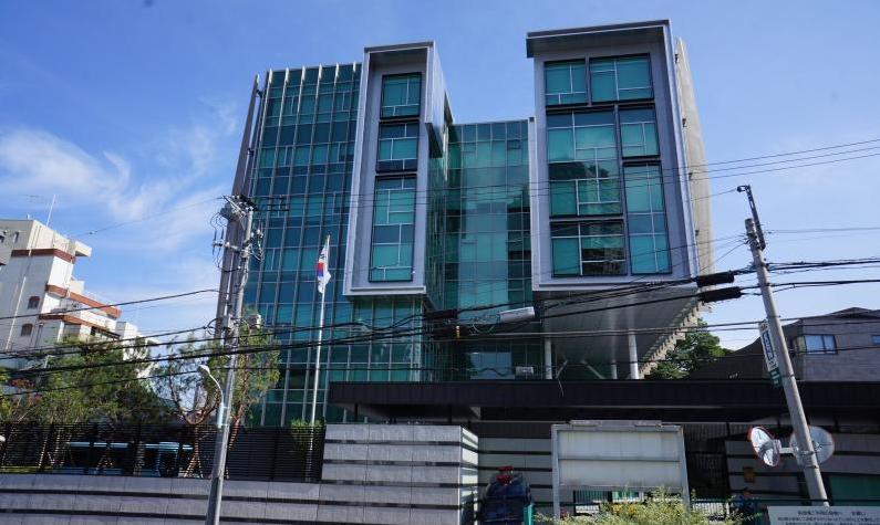 مبنى سفارة كوريا الجنوبية في طوكيو