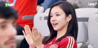 韓国女子アナ「ジャン・イェウォン」のブラジルW杯で話題になった笑顔写真