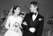 キムテヒとピの結婚式