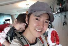 ユン・サンヒョンと子供