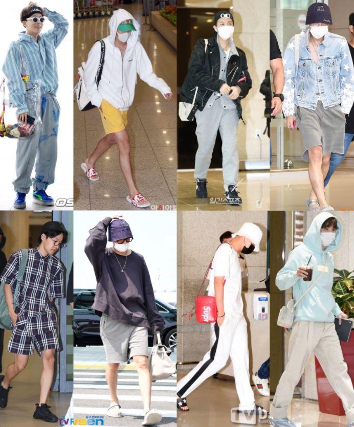 BTS JHOPE 私服